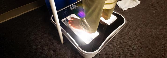 Chiropractic Marshalltown IA Foot Scan
